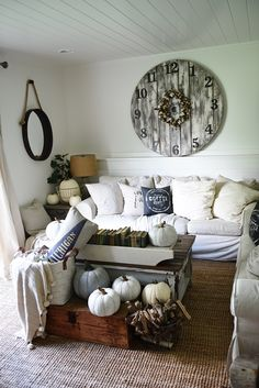Neutral Early Fall Home Tour