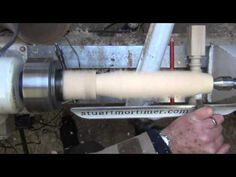 Wood Turning - How to produce a Spiral Twist in Wood Part 1 - YouTube