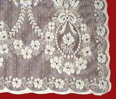 Cotton Lace Panels - Nottingham Rhona
