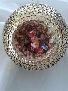 tolle weihnachtskugel. handmade