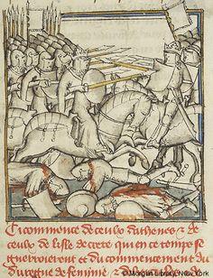 Histoire universelle depuis la Création jusqu'a César, MS M.516 fol. 77r - Images from Medieval and Renaissance Manuscripts - The Morgan Library & Museum