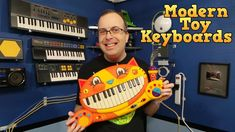 Modern Toy Keyboards, Meowsic, Casio SA-76, SA9, & Technobeat. In this episode I take a look a 5 modern toy keyboards. B.Meowsic Keyboard Casio SA-76 Casio SA-9 TechnoBeat First Act Discovery Support this channel on Patreon: https://www.patreon.com/8BitGuy1  Visit My Website: www.the8bitguy.com