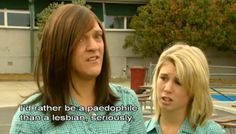 When she wasn't afraid to share her beliefs: | 22 Times Ja'mie King Was The Most Real And Inspiring Person On Television