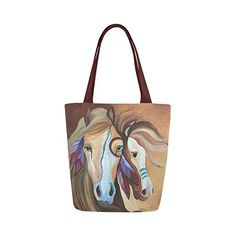 Horse Tote Indian Bag Canvas Shoulder Handbagshaven Has On Las Leather Bags And Fashion Accessories