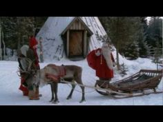 Lapland tourism in Finland: Visit Finnish Lapland Rovaniemi Kemi Levi Ylläs Travel video Santa Claus Lappland, Scandinavian Christmas Trees, Panning For Gold, Lapland Finland, Father Christmas, Merry Christmas, Whitewater Rafting, Travel Videos, Little People