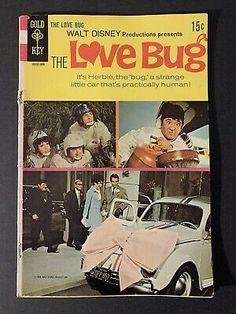The Love Bug #1 Gold Key Comics Walt Disney Movie Productions VG