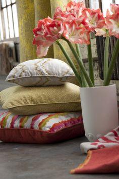 #fabrics #textiles #inspiration  {Laura Kirar for Highland Court}
