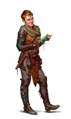 Female Human Rogue - Graxus Phand - Pathfinder PFRPG DND D&D d20 fantasy