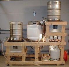 La siguiente es una guía paso a paso para la construcción de un sistema de fábrica de cerveza en casa completo.