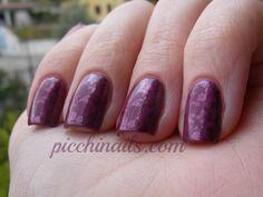 Kiko: #317stamped with China Glaze: Joy, BM 221 #nails