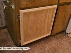 bead board panel cabinet door diy version for bedroom doors home