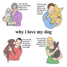 "Chris (Simpsons artist) (@chrissimpsonsartist) on Instagram: ""why i love my dog xox"""