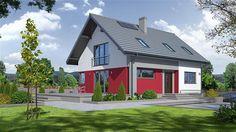 Projekt domu Jaworki 39