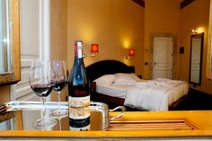 The spacious, luminous and welcoming rooms of the Locanda Gulfi offer every comfort. #travel #wine #Sicily