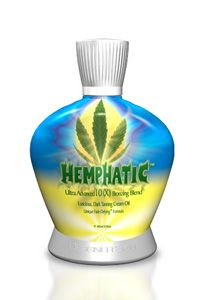 Our most recent fav bronzing lotion by Designer Skin! The Hemp Seed Oil keeps that skin of yours nice and hydrated!
