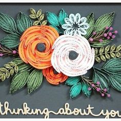 #quilling The work of my son ❤❤❤