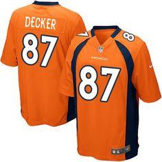 Nike Elite Youth Denver Broncos http://#87 Eric Decker Team Color Orange NFL Jersey $79.99