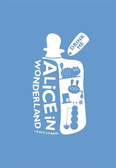 Alice in Wonderland / Minimalistic Movie Poster