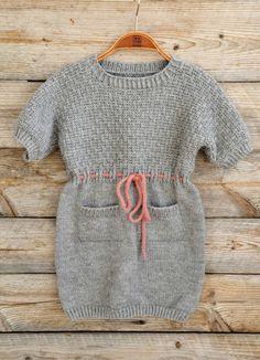 Hekta på strikk: Ei jåle i bamsekjole!