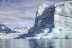 Day 1 paddle amongst 60+ft icebergs