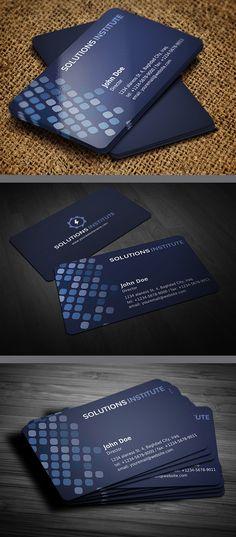 Corporate Business Card Template  #businesscards #businesscardstemplates #templates