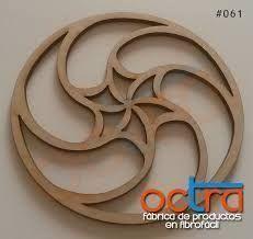 Image result for mandalas calados en madera #mandalascalados