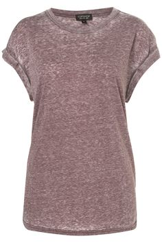 OVERSIZED BURNOUT TEE by TOPSHOP