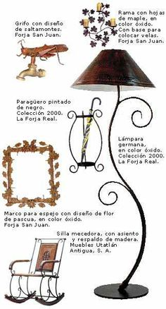 1000 images about hierro forjado on pinterest wrought - Decoraciones en hierro forjado ...