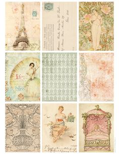 Jodie Lee Designs: Free Download! Paris Spring Printable Tags