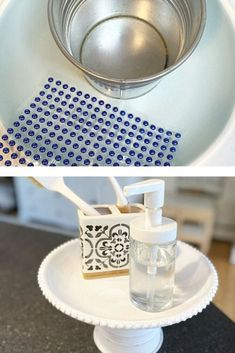 Decorate your kitchen, dining room, living room on a budget with this easy dollar tree home decor diy idea on a budget. Dollar Tree Gifts, Dollar Tree Decor, Home Wall Decor, Diy Home Decor, Outdoor Candle Holders, Budget Home Decorating, Tree Crafts, Diy On A Budget, Kitchen Dining