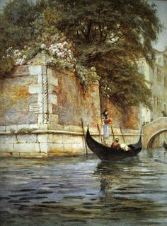 Venice ~ Helen Allingham ~ (English 1848-1926)