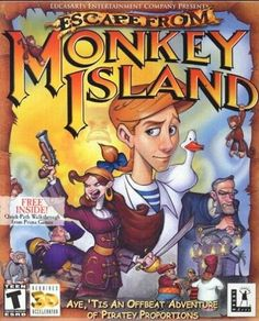 Actual Game Escape from Monkey Island 1-Click Install Windows 10, 8, 7, Vista, XP (LucasArts 2000) MY PROMISE My games are genuine, install in one step, look, sound and play in Windows 10, 8, 7, Vista