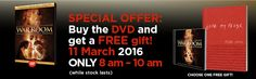 War Room exclusive Deal! ONLY 11 March, 8 AM to 10 AM Christian Movies, Free Gifts, March, Room, Bedroom, Promotional Giveaways, Rooms, Mac, Rum