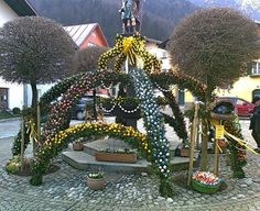 Osterbrunnen in Bad Reichenhall 2015