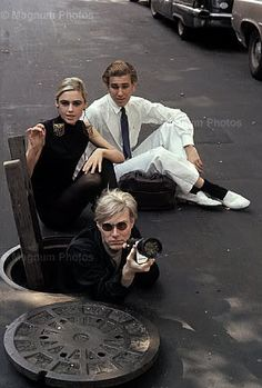 Andy and Edie Sedgwick http://www.pinterest.com/pin/282671314086665428/