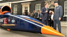 A British team is developing a car that will be capable of reaching 1,000mph (1,610km/h). Powered by a rocket bolted to a Eurofighter-Typhoon jet engine, the vehicle will mount an assault on the land speed record. The vehicle will be run on Hakskeen Pan in Northern Cape, South Africa, in 2015 and 2016.