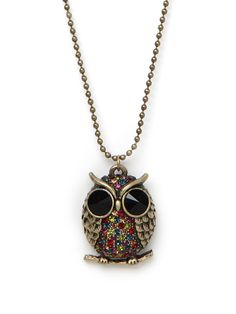 Our Owl Pendant