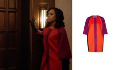 Orange and Pink Coat Scandal Olivia Pope