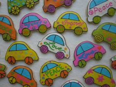 VW bug cookies --- LOVE these!!!!!