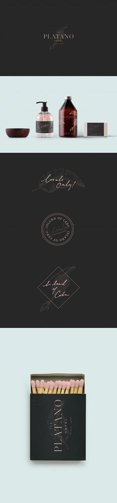 Platano Hotel Logo, Branding, and Packaging by Tonik Studio | Logo Designer Bradenton, Web Design Sarasota, Tampa Fivestar Branding Agency #hotel #hotelbranding #branding #brand #brandinspiration #packaging #logo #logodesign #design #designinspiration