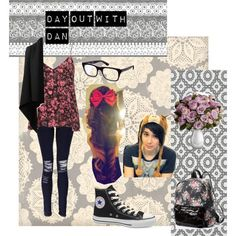 """Day Out With Dan"" by smosherkalelkitten on Polyvore"