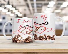 I Love My Coffee Humorous Coffee Lover Gift Funny and Coffee Humor, Coffee Coffee, Unique Gifts, Best Gifts, Handmade Shop, Handmade Gifts, Coffee Health Benefits, Simple Rules, Coffee Lover Gifts