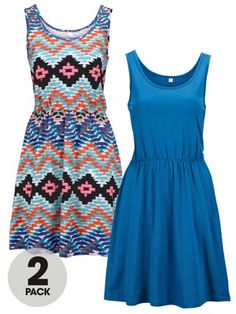 Tie Front Sundresses (2 Pack), http://www.very.co.uk/south-tie-front-sundresses-2-pack/1339654223.prd