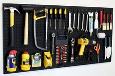 These are genius! 20 Garage storage ideas to get rid of the clutter. Amazing hacks, tips and products so you can finally park the car!