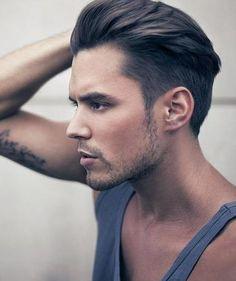 #men #hair #2013Mmmmsz ! Love it .. Always been my fave'!!!! Iyou got it men (flaunt it) keep the top long.. Ooh lala!