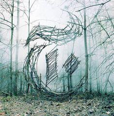 Les créations Land Art et Anamorphoses de Nicola Yeoman