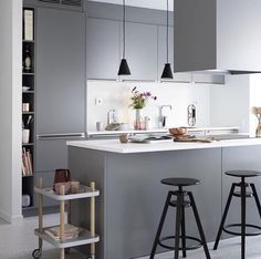 A stunning grey kitchen - Is To Me