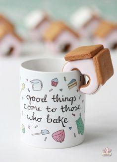 ♔ Good Things Come to Those Who Bake Mug ~ Jilly Jilly