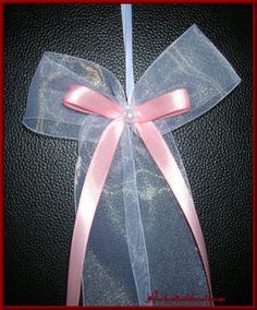 Hochzeitsdeko - Antennenschleifen Autoschleifen Hochzeit - ein Designerstück von autoschmuck bei DaWanda