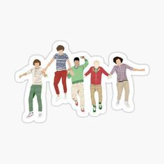 Pegatinas: One Direction   Redbubble Art One Direction, One Direction Lockscreen, One Direction Drawings, One Direction Wallpaper, Harry Styles Wallpaper, Printable Stickers, Cute Stickers, Canciones One Direction, Harry Styles Drawing